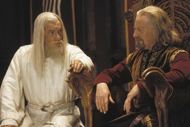 the two towers gandalf theoden2
